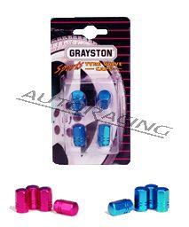 Alumiiniset venttiilihatut sininen