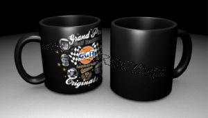 GPO 10th Anniversary kahvimuki musta