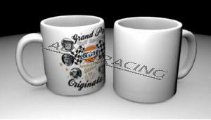 GPO 10th Anniversary kahvimuki valkoinen