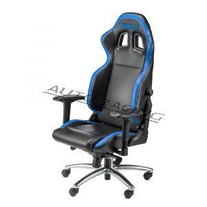 Sparco Respawn SG-1 toimisto/pelituoli musta/sininen
