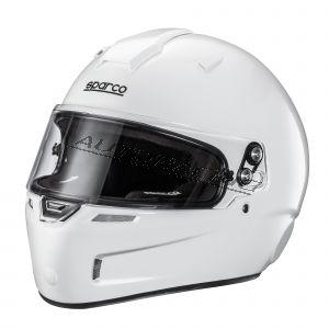 Sparco SKY KF-5W kartingkypärä valkoinen koko s