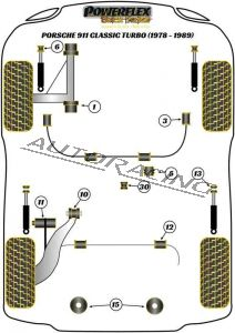 PORSCHE 911 CLASSIC (1978-1989) TURBO BLACK SERIES