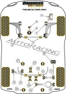 AUDI TTRS MK2 8J (2009-2014) BLACK SERIES