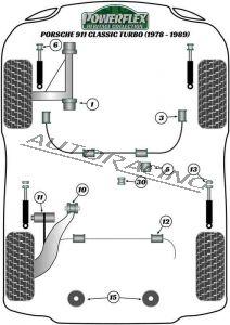 PORSCHE 911 CLASSIC (1978-1989) TURBO HERITAGE SERIES