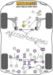 AUDI TT MK2 8J (2007-2014) ROAD SERIES
