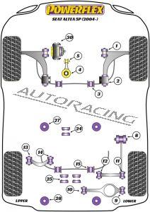 SEAT ALTEA 5P (2004-) ROAD SERIES