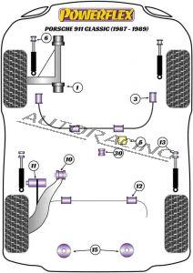 PORSCHE 911 CLASSIC (1987-1989) ROAD SERIES