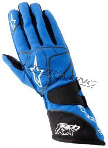 Alpinestars Tech 1-KX kartinghanska sininen XXL