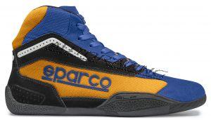 Sparco GAMMA KB-4 kartingkenkä sininen / oranssi fluo koko 36