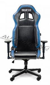 Sparco ICON toimisto/pelituoli musta/sininen