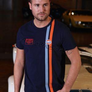 Gulf Racing T-paita koko M