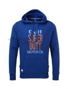 Gulf Super Duty Motor Oil huppari koko XS