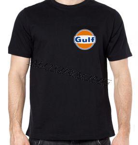 Gulf t-paita musta koko S