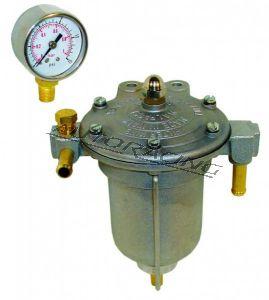 PETROL KING suodatin/paineensäädin mittarilla kaasutinmoottorille