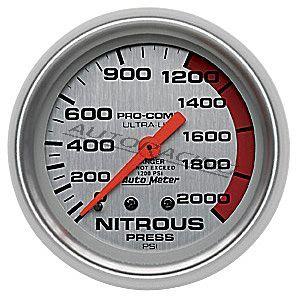 Autometer 4428 Ilokaasupainemittari