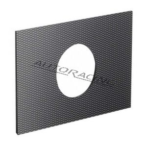 Asennuslevy 152x102mm carbon look