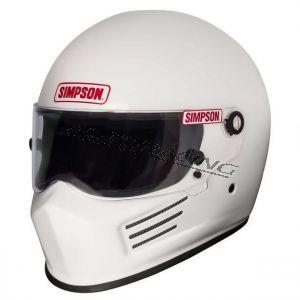 Simpson Bandit kypärä valkoinen S (54-55)