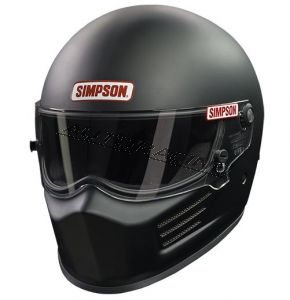 Simpson Bandit kypärä musta S (54-55)