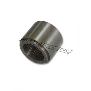 Hitsattava liitin NPT 1/4x18 naaras alumiini