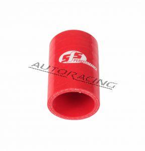 Silikoniletku liitos 57mm punainen