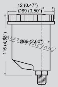 Jarrunestesäiliö CP2293-141