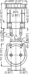 Jarrunestesäiliö CP2293-85