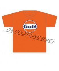 Gulf lasten t-paita oranssi koko 128cm