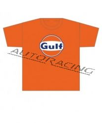 Gulf miesten t-paita oranssi koko XL