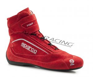 Sparco Top + SH-5 ajokenkä punainen 36