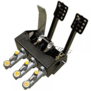 pedal box lattiapolkimilla