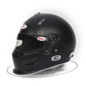 BELL GP3 Sport matta musta koko L
