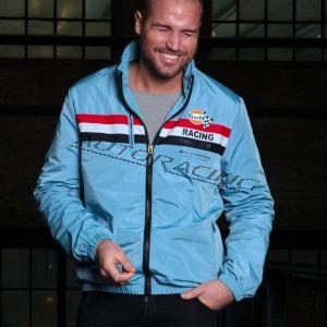 Jimmy Jacket kangastakki sininen koko M