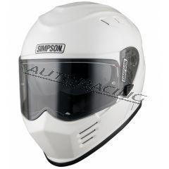 SIMPSON VENOM kypärä valkoinen KOKO XL