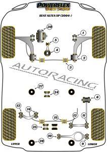 SEAT ALTEA 5P (2004-) BLACK SERIES