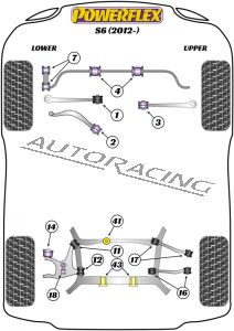 AUDI S6 (2012-) ROAD SERIES