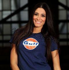 Lady Vintage Gulf T-paita koko L