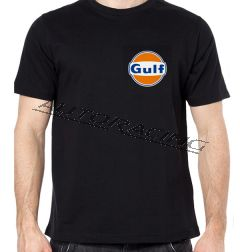 Gulf t-paita musta koko XL