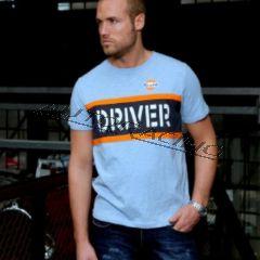 Driver t-paita sininen koko XXL
